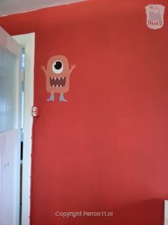 wall sticker monster nursery wallpaper
